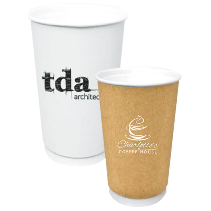 16oz Double Wall Insulated Paper Cup