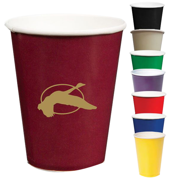 9oz Colored Hot/Cold Paper Cups