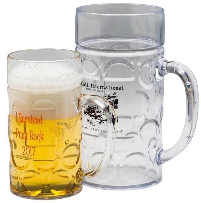 32oz Dimpled Beer Stein