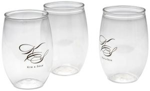 16oz Stemless Wine Glass