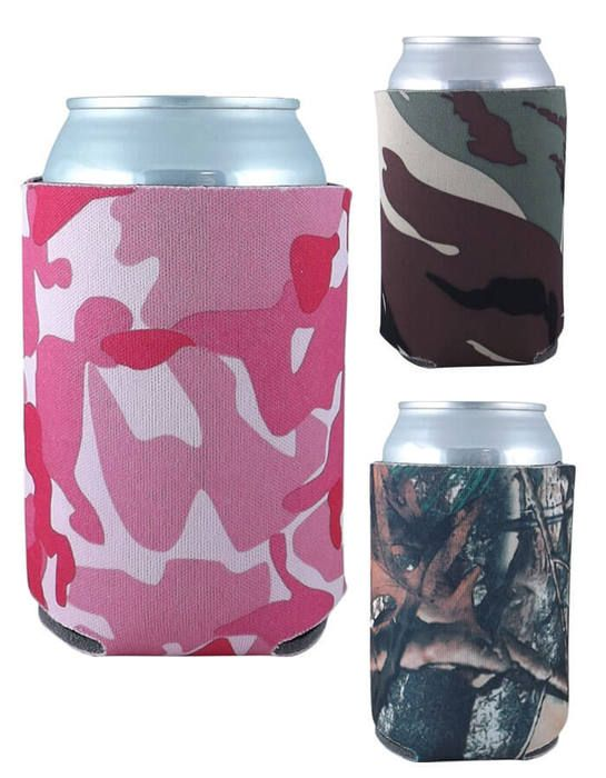 Collapsible Can Cooler Comouflage Colors