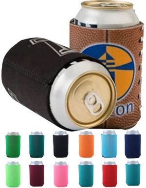 Collapsible Neoprene Can Cooler with Full Color