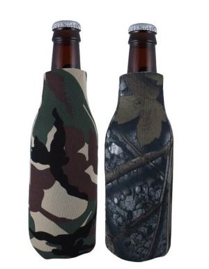 Zippered Bottle Cooler Comouflage Colors