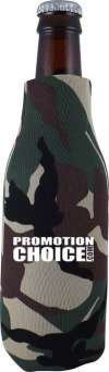 Zippered Bottle Cooler Comouflage Colors - Camo