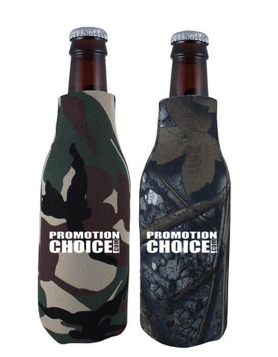 Zippered Bottle Cooler Comouflage Colors