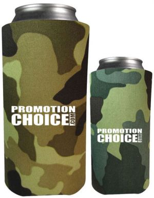 Collapsible 16 oz. Can Coolers Comouflage Colors