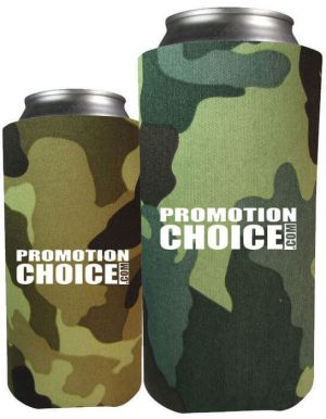 Collapsible 8 oz. Koozies Comouflage Colors
