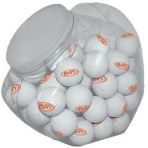 Plastic Jar For Ping Pong Balls