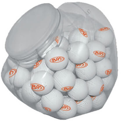 Plastic Jar for Ping Pong Balls