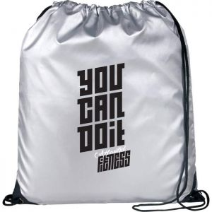 Oriole Reflective Drawstring Bag
