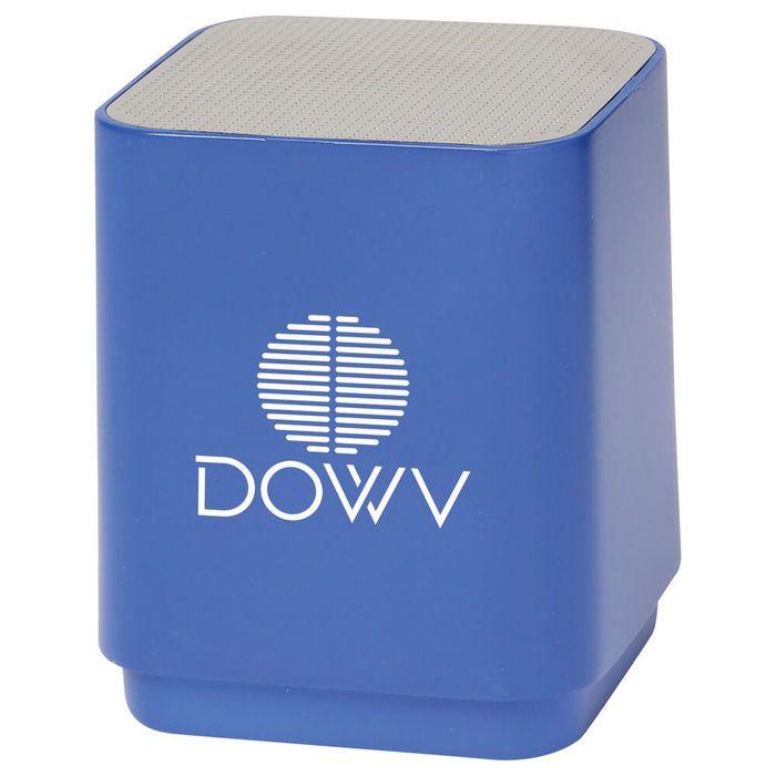 Light Up Logo Bluetooth Speaker - Royal Blue