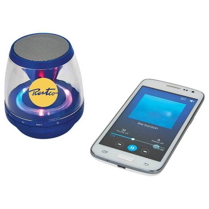Rave Light Up Bluetooth Speaker - Royal Blue