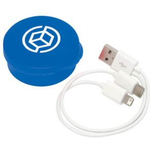 Versa 3-in-1 USB Cable in Case