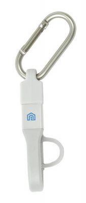 3-IN-1 Charging Cable with Carabiner