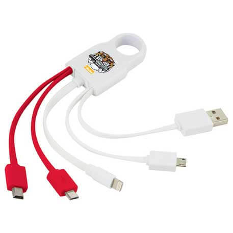 Squad MFi Certified 4-in-1 Cable