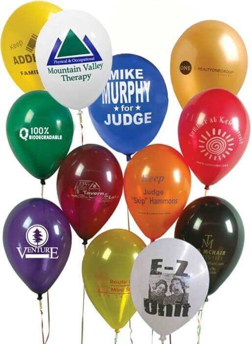 "11"" Custom Balloons"