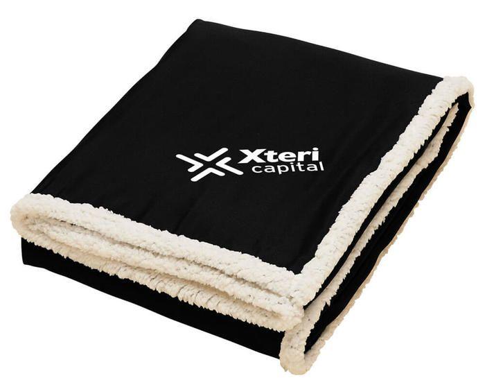 Sherpa Blanket - Black