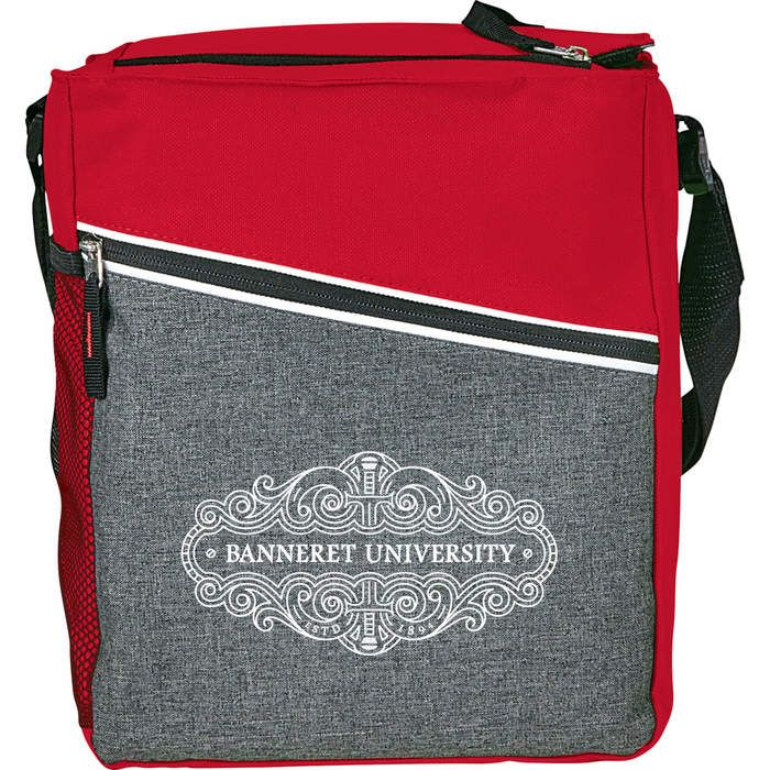 Level 12 Can Lunch Cooler - Red