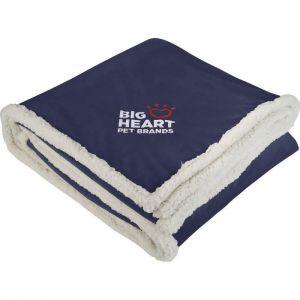 Branded Sherpa Blanket