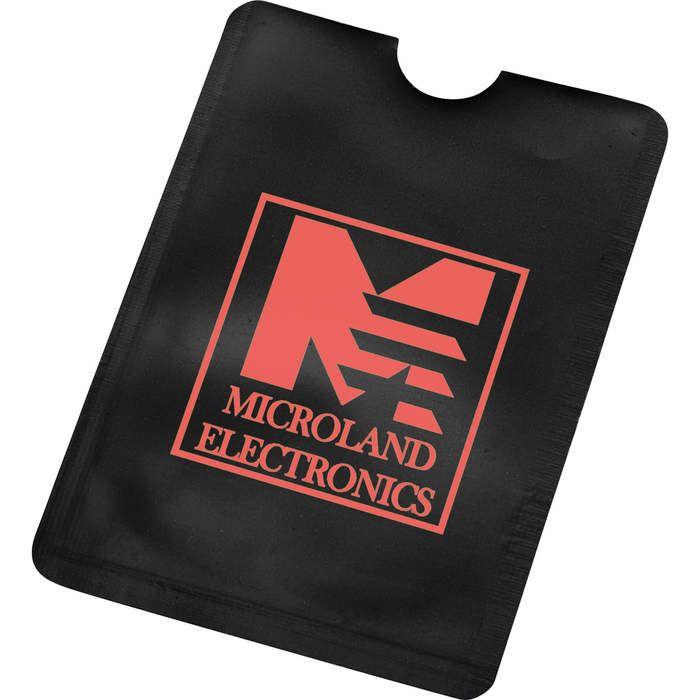 RFID Smartphone ID Holder - Black
