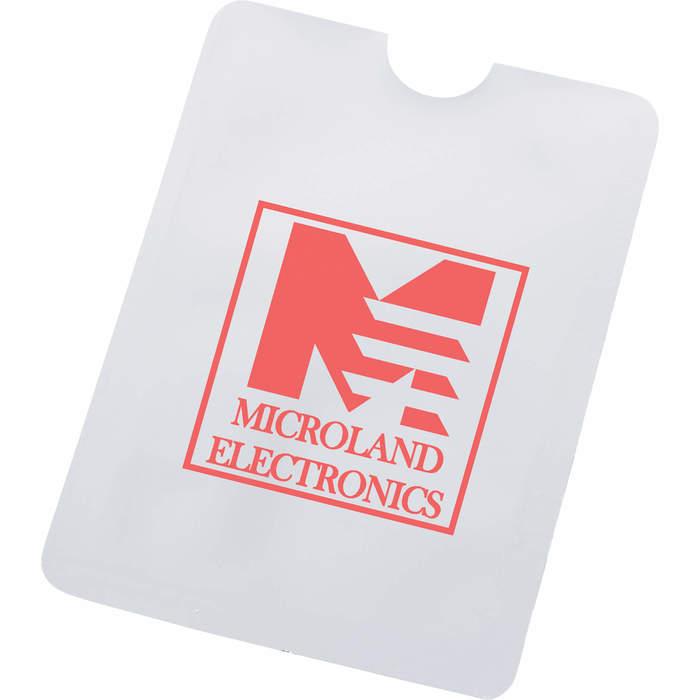 RFID Smartphone ID Holder - Silver