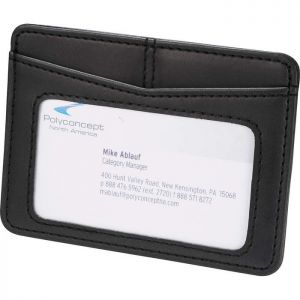 Pedova Business Card & ID/Badge Wallet