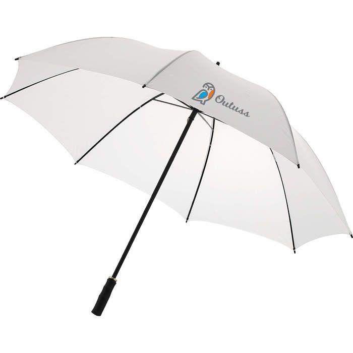 """46"""" Auto Open Value Fashion Umbrella - White"""