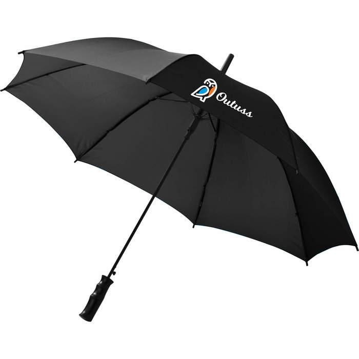 """46"""" Auto Open Value Fashion Umbrella - Black"""