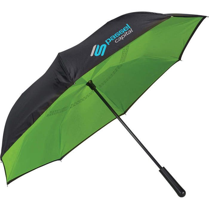 46 inch Colorized Manual Inversion Umbrella