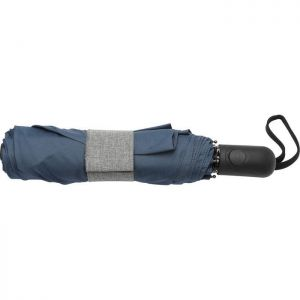 "42"" Heathered Strap Auto Open Umbrella"
