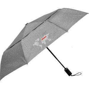 "46"" Heathered AOC Vented Umbrella"