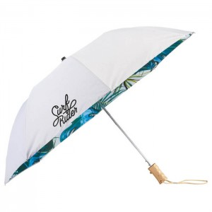 "46"" Palm Trees Auto Open Folding Umbrella"