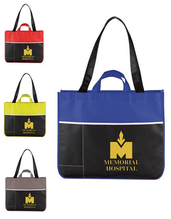 Change Up Meeting Tote Bags