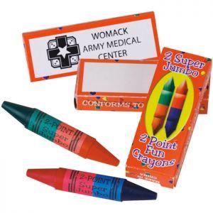 Jumbo Dual Tipped Crayons