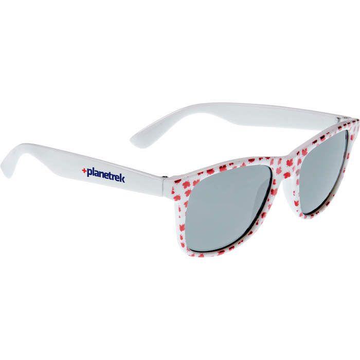 Maple Leaf Sun Ray Sunglasses