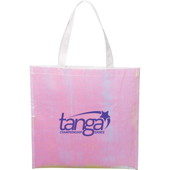 Iridescent Non-Woven Convention Tote