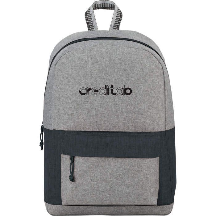 Logan 15 Computer Backpack - Charcoal