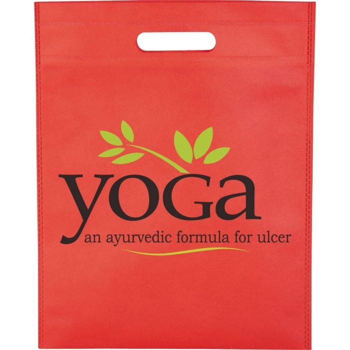 Freedom Heat Seal Exhibition Tote Bags - Red