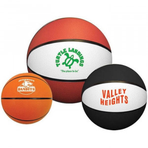 "7"" Rubber Basketballs"