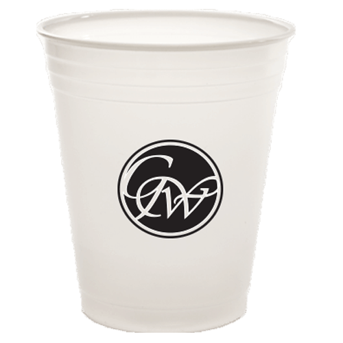 7oz Trans Soft Sided Plastic Cups