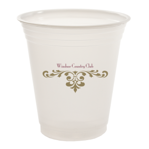 12oz Trans Soft Sided Plastic Cups