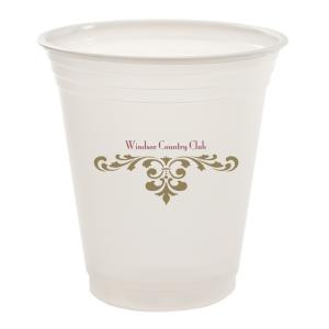 12oz Trans Soft Sided Plastic Cups