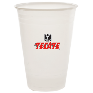 16/18oz Trans Soft Sided Plastic Cups