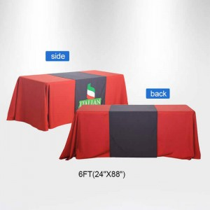 6 ft. Trade Show Table Runners