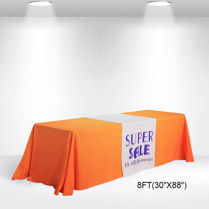 8 ft. Trade Show Table Runners