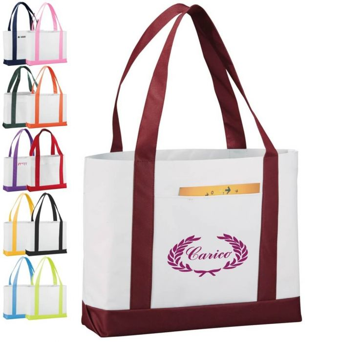 Large Boat Tote Bags
