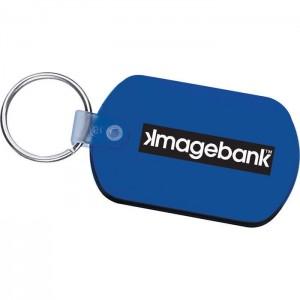Rectangular Keychain Tag