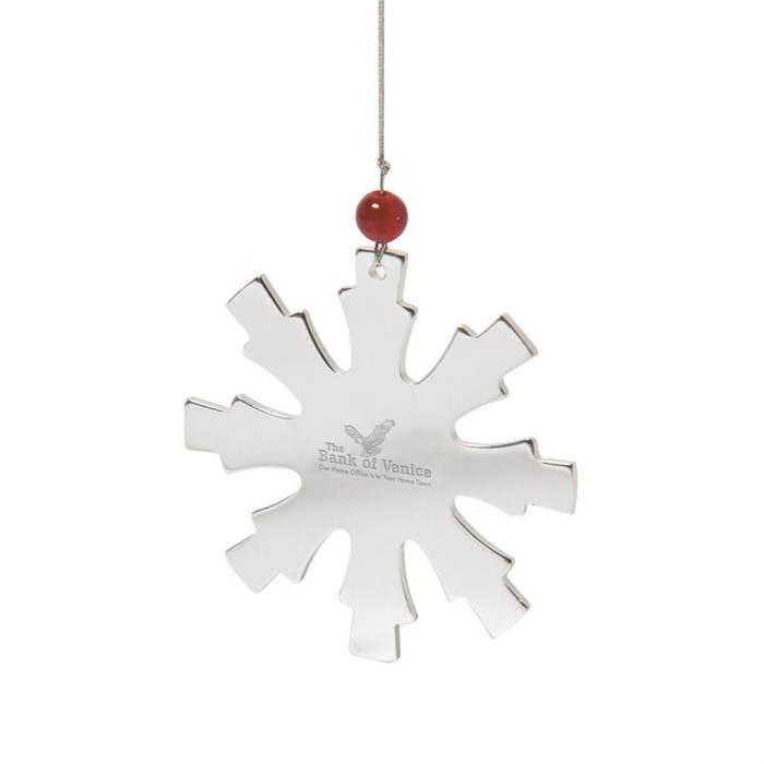 Glistening Stainless Steel Ornament