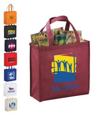 Main Street Shopper Tote Bags