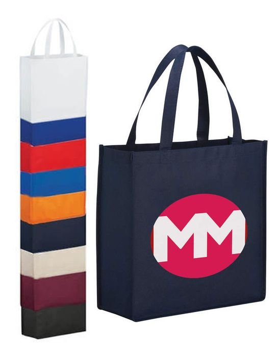 Main Street Shopper Tote Bags